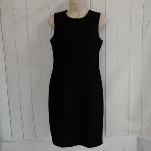Loft Black Midi Sheath Dress